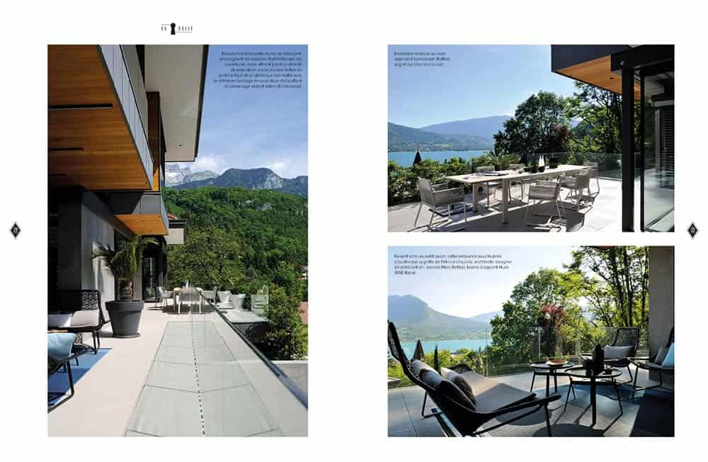 Domodeco article archidomo villa akila, Annecy Talloires - n95 p5