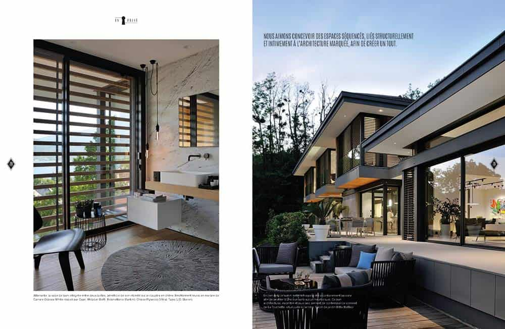 Domodeco article archidomo villa akila, Annecy Talloires - n95 p8