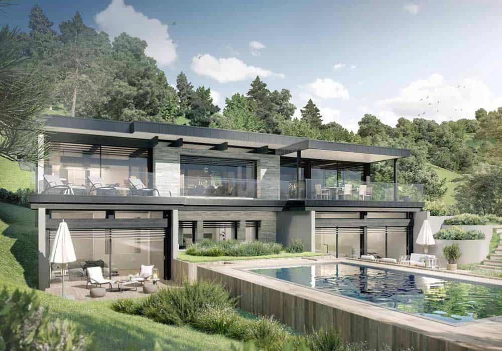 Maison Particulière, architecte constructeur Annecy - villa contemporaine 0