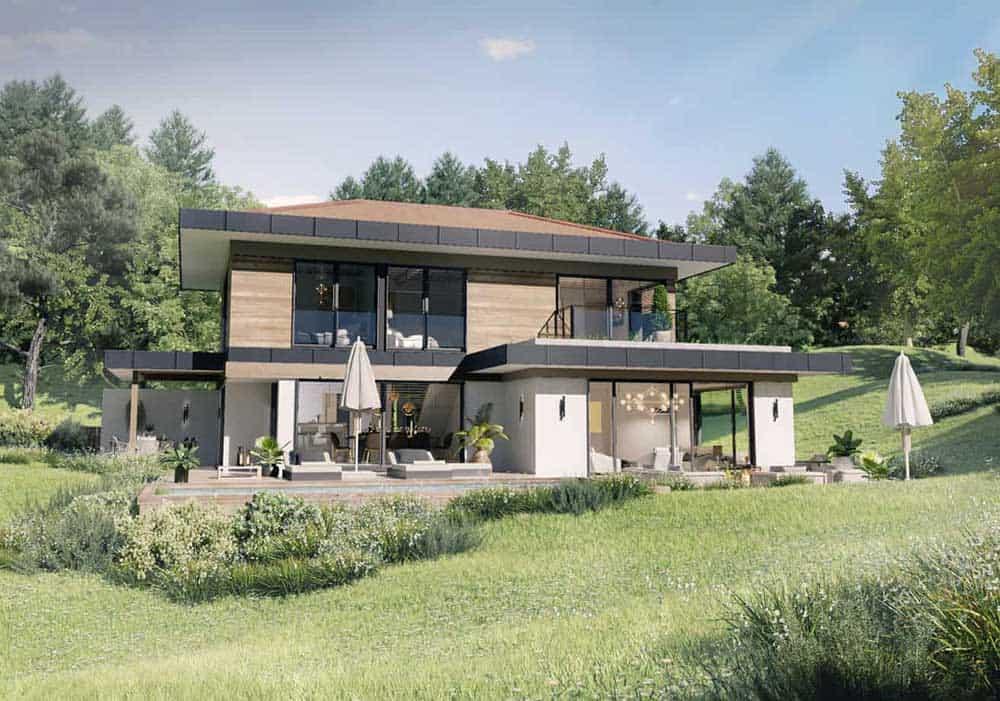 Maison Particulière, architecte constructeur Annecy - villa contemporaine 3