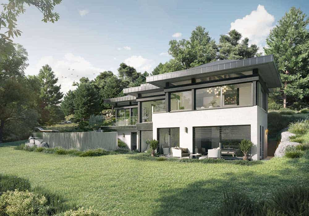Maison Particulière, architecte constructeur Annecy - villa contemporaine 4