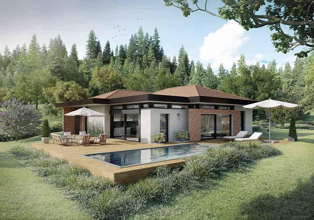 Maison Particulière, architecte constructeur Annecy - villa contemporaine 8
