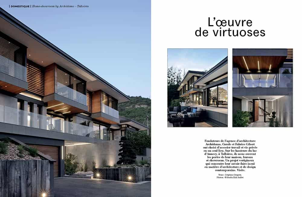 Artravel article archidomo villa akila, Annecy Talloires - n94 page 2