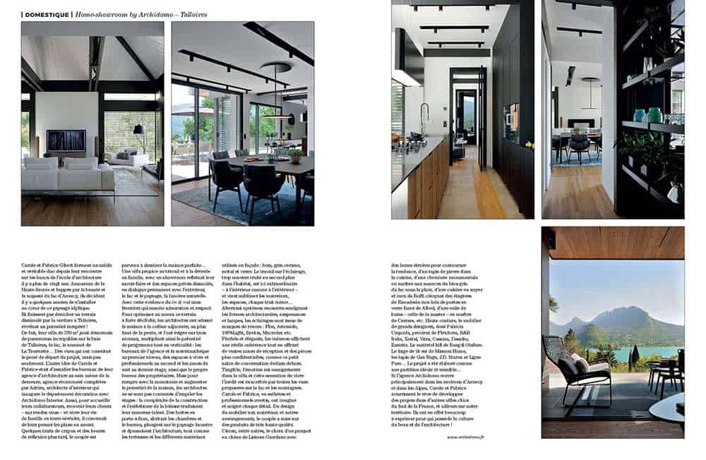 Artravel article archidomo villa akila, Annecy Talloires - n94 page 4