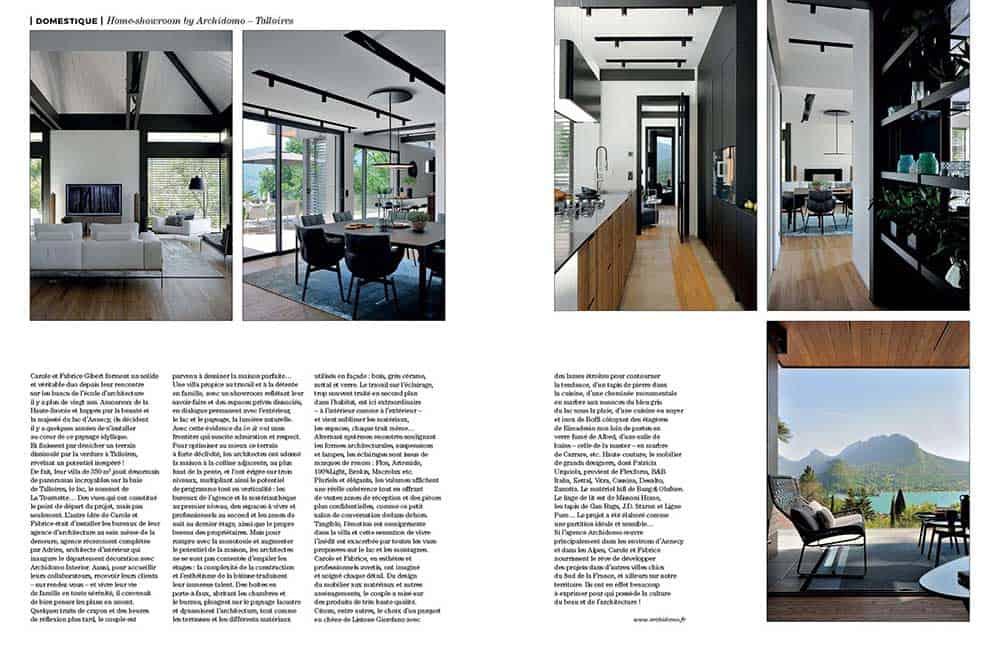 Artravel article archidomo villa akila, Annecy Talloires - n94 page 4