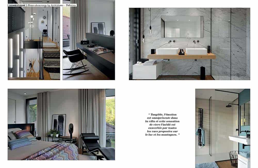 Artravel article archidomo villa akila, Annecy Talloires - n94 page 5