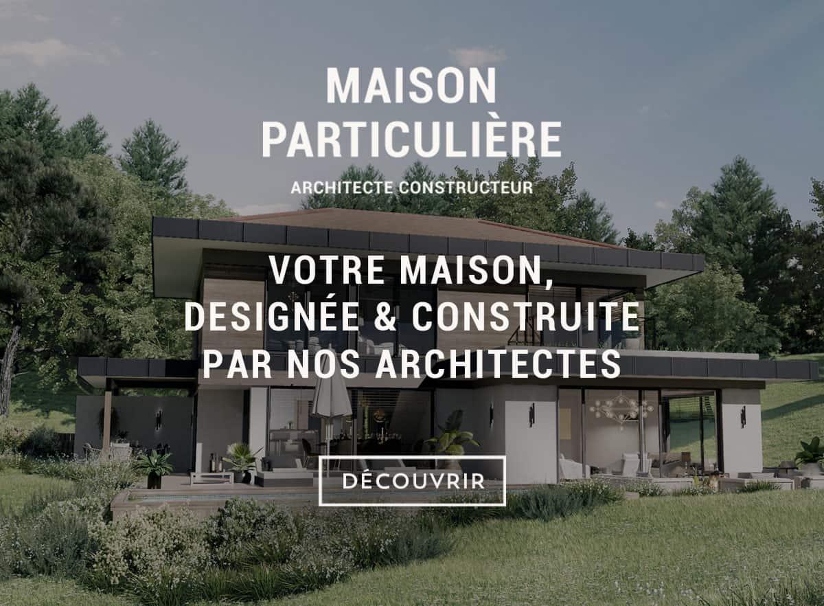 Les belles maisons des architectes constructeurs
