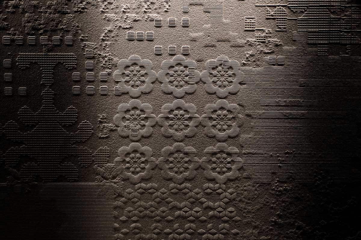 Carrelage Bas-relief de Patricia Urquiola pour la marque italienne Mutina à Annecy